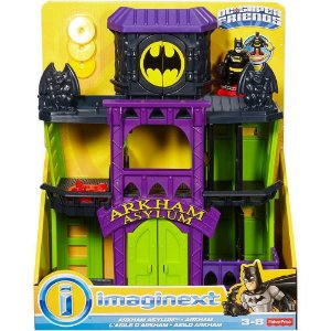 DC PLAYSET ARKHAM - FDX24 - IMAGINEXT