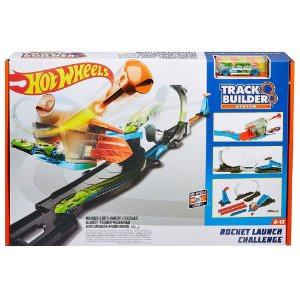 HOT WHEELS TRACK BUILDER COJ DESAFIO LANCADOR FLK60