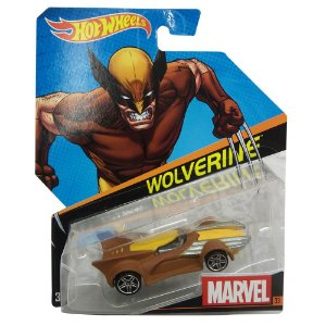 MARVEL CARROS 1:64 SORT - HOT WHEELS
