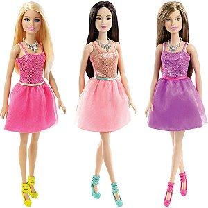 Barbie Glitter Vestido Violeta