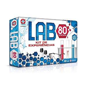 Jogo Lab Kit De Experiências Com 80 Experiências Estrela