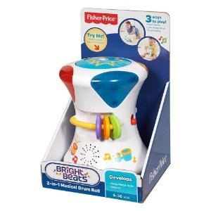 TAMBOR CORES E SONS 2 EM 1- CFN02 - FISHER PRICE