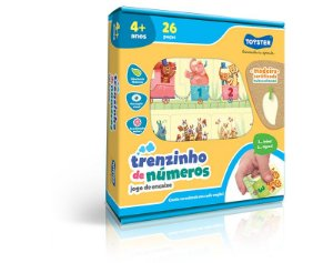 TRENZINHO DE NUMEROS - TOYSTER