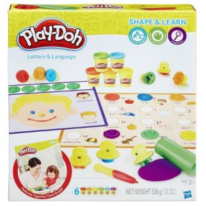 PLAY-DOH APRENDENDO AS LETRAS / B3407