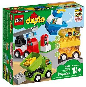 As Minhas Primeiras Criacoes de Veiculos - LEGO 10886