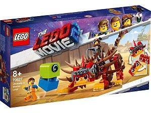 Megaestilo Guerreira e Ultragata! - LEGO 70827