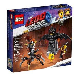 Batman e Barba de Ferro Prontos para Combate - LEGO 70836