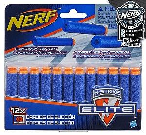 NERF REFIL DARDO SUCCAO C/12 /A5334