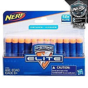 REFIL NERF N-STRIKE ELITE COM 12 /A0350-A1454