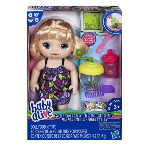 Baby Alive Papinha Divertida - Hasbro