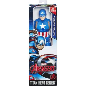 FIG CAPITAO AMERICA 12 - HASBRO