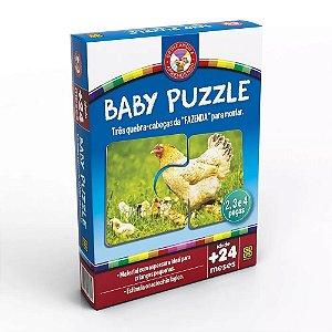 Quebra Cabeça Baby Puzzle - Grow