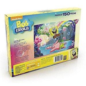 Quebra-Cabeça Bob Esponja - 150 Peças - GROW