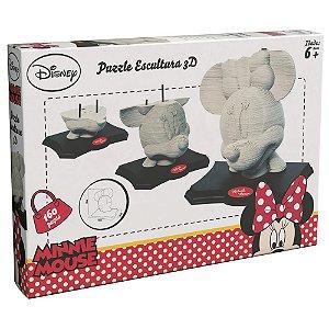 Quebra-Cabeça - 3D - Disney - Minnie Mouse - Grow