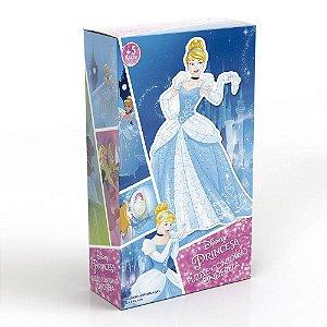 Quebra - Cabeça Contorno Cinderela - Princesas Disney - Grow