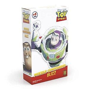 Quebra-Cabeça com Contorno - Toy Story - Buzz - Grow