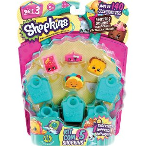 SHOPKINS - BLISTER KIT COM 5 - DTC