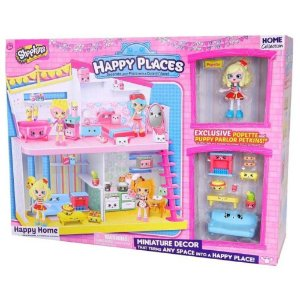 Shopkins Happy Places Happy Home Pipokatia Sala Cachorrinhos