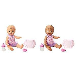 Boneca Little Mommy Bebê Faz Xixi - Mattel