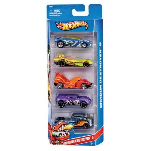 HOT WHEELS C/5 CARRINHOS - MATTEL