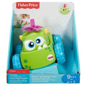 MONSTRO VEICULO SORT. DRG16 - FISHER-PRICE