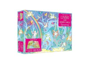 Unicornios: Livro Com Quebra-Cabeca - Usborne