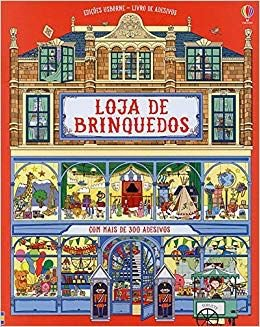 Loja de Brinquedos. Livro de Adesivos - Usborne