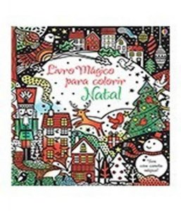 Natal. Livro Magico Para Colorir - Usborne