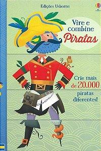 Piratas. Vire e Combine - Usborne