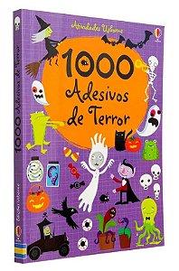 1000 Adesivos de Terror - Usborne