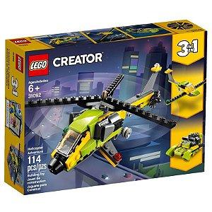 Aventura de Helicoptero LEGO 31092