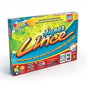 JOGO DE TABULEIRO SUPER LINCE C/APPS  - 2343 - GROW