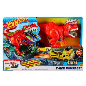 PISTA HOT WHEELS CITY T-REX DEMOLIDOR - GFH88 - MATTEL