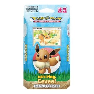 POKEMON DECK LETS PLAY PIKACHU-EEVEE