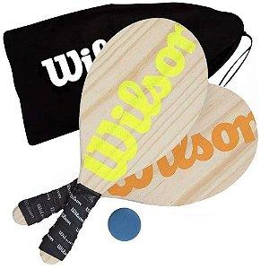 FRESCOBOL WILSON LARANJA/VERDE - WILSON