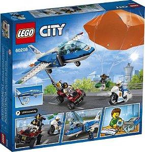 Patrulha Aérea com Paraquedas - 60208 - LEGO