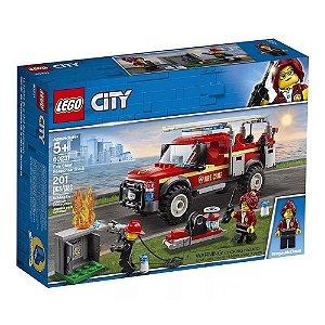 Caminhao do Chefe dos Bombeiros LEGO 60231