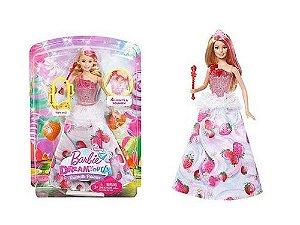 Boneca Barbie Fantasia Princesa Reino dos Doces Mattel DYX28