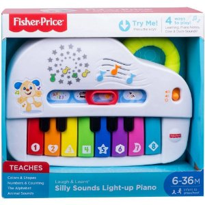 FISHER Price LL - APRENDER E BRINCAR - PIANO CACHORRINHO GFX34