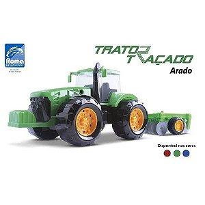 TRATOR TRACADO ARADO 47,5CM - Sortido - ROMA