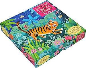 Na Selva: Livro Com 3 Quebra-Cabecas - Usborne