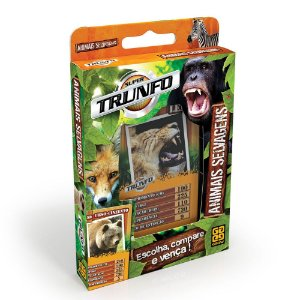 TRUNFO ANIMAIS SELVAGENS - GROW