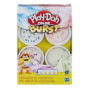 PLAY-DOH COLORES SORTIDAS BURST Com 4 / E6966