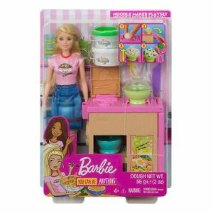 BARBIE NOODLE BAR PLAYSET BLONDE UNIDADE GHK43 - MATTEL