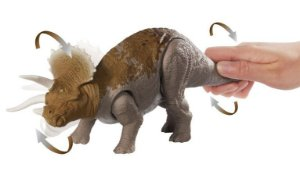PERSONAGEM JURASSIC WORLD RUGE E ATACA GJN64 - MATTEL