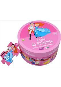 O Baile da Princesa: Livro + Quebra-Cabeca Gigante -site-ecd - Sassi
