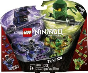 Spinjitzu Lloyd Vs. Garmadon Lego 70664