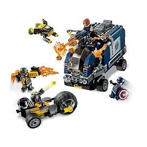 ATAQUE DE CAMINHAO DOS VINGADORES - 76143 - LEGO