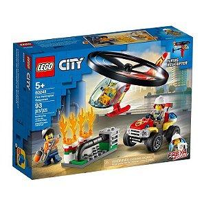 COMBATE AO FOGO COM HELICOPTERO 60248 - LEGO