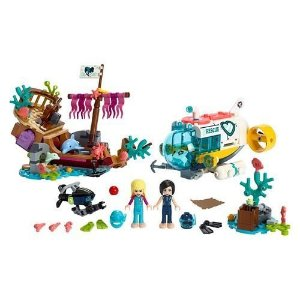 MISSAO DE RESGATE DE GOLFINHOS - 41378 - LEGO